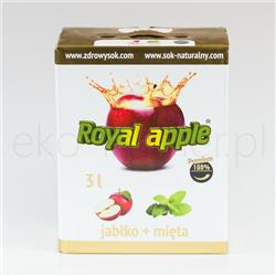 Sok Royal Apple jabłko mięta 3l
