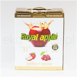 Sok Royal Apple jabłko wiœnia 3l