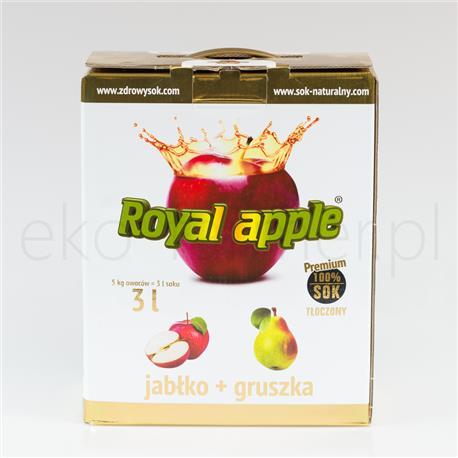 Sok Royal Apple jabłko gruszka 3l-519