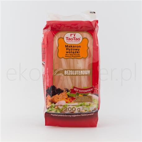 Makaron ryżowy wstążki Tao Tao 200g-676