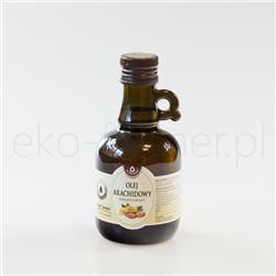 Olej arachidowy tłoczony na zimno Oleofarm 250ml