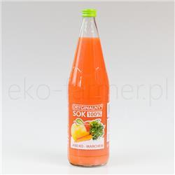 Oryginalny sok 100% jabłko marchew 1l-522