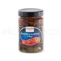 Pomidory suszone w oleju słoik 290g Helcom