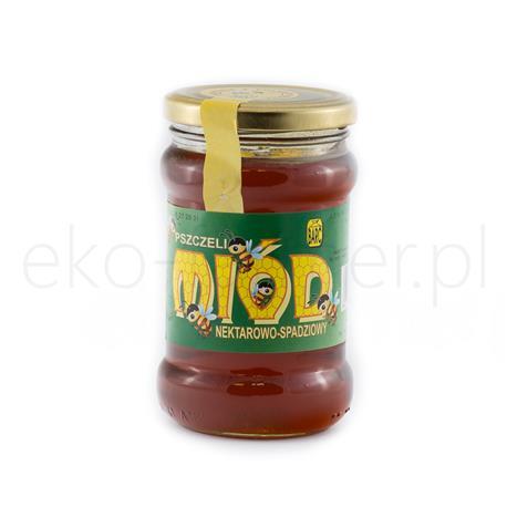 Miód nektarowo-spadziowy Barć świętokrzyska 380g -981