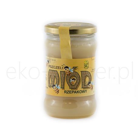 Miód rzepakowy Barć świętokrzyska 380g-977