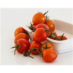 Pomidorki koktajlowe z naszego ogrodu