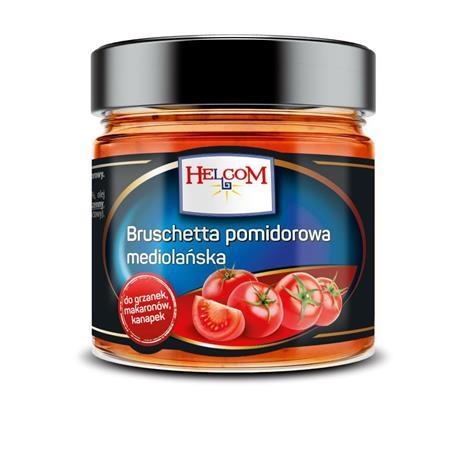 Bruschetta pomidorowa mediolańska 195g Helcom-1179