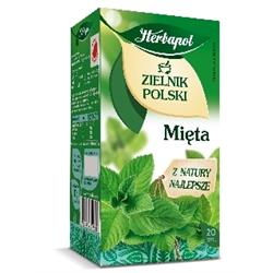 "Herbata ""zielnik polski"" mięta 20 szt. Herbapol-1298"