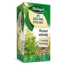 Herbata zielnik polski koper wł. 20 szt. Herbapol-1300