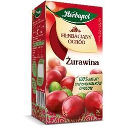 "Herbata""herbaciany ogród żurawina 20 szt. Herbapol-1294"