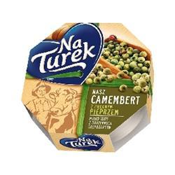 Ser camembert z pieprzem 120g Turek