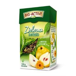 Herbata zielona z ow. pigwy liść 100g Big-Active-1287