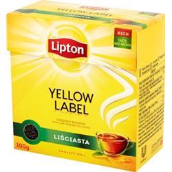 Herbata czarna liściasta Yellow Label 100g Lipton-1274