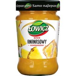 Dżem ananasowy niskosłodzony 280g Łowicz