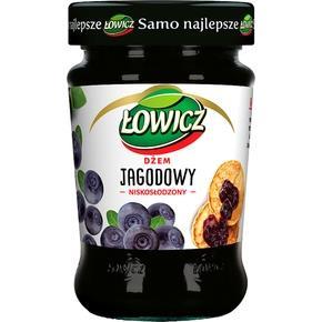 Dżem jagodowy niskosłodzony 280g Łowicz-1731