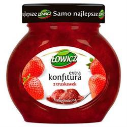 Konfitura truskawkowa 240g Łowicz
