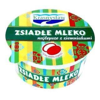 Mleko zsiadłe 400ml miska Krasnystaw-1834