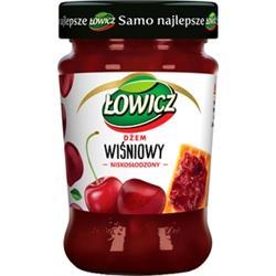 Dżem wiśniowy niskosłodzony 280g Łowicz-1734