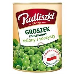 Groszek konserwowy 400g Pudliszki