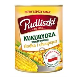 Kukurydza konserwowa 400g Pudliszki