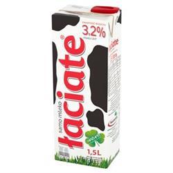 Mleko łaciate UHT 3,2% 1,5L Mlekpol