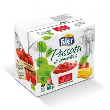 Passata przecier pomidorowy 500g Kier-1197