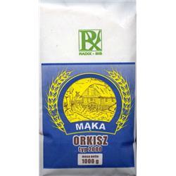 Mąka orkiszowa typ 2000 1kg Radix-bis