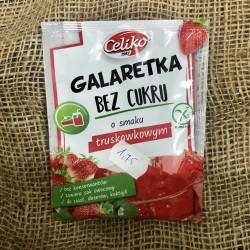 Galaretka truskawkowa bez cukru 14g Celiko