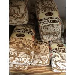 Chleb żytni 100% Kaczeńcowa foremka 500g