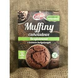 Muffiny czekoladowe bezglutenowe 310g Celiko