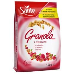 SANTE GRANOLA OWOCOWA 350G