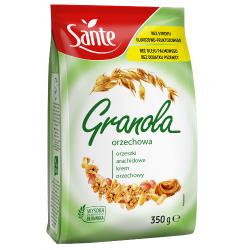 SANTE GRANOLA ORZECHOWA 350G