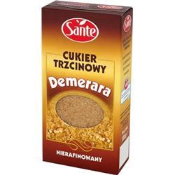 Cukier trzcinowy Demerara 500g Sante