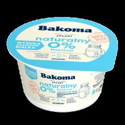 JOGURT NATURALNY PROBIOT. 0% BAKOMA 170G