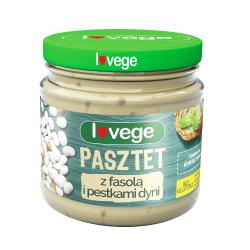 Pasztet wegetariański z fasolą 180g Sante