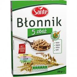 Błonnik 5 zbóż 250g Sante-175