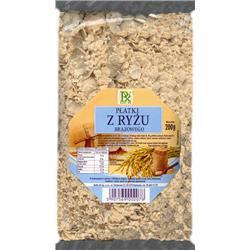 Płatki z ryżu brązowego 200g Radix-Bis