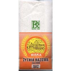 Mąka żytnio-razowa typ 2000 900g Radix-Bis
