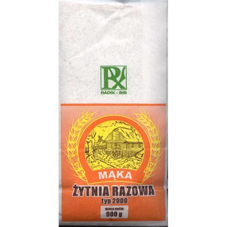 Mąka żytniaorazowa typ 2000 900g Radix-Bis-145