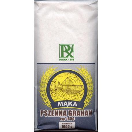 Mąka pszenna graham typ 1850 1kg Radix-Bis-148