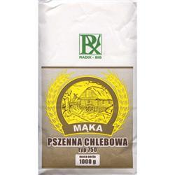 Mąka pszenna chlebowa typ 750 1kg Radix-Bis