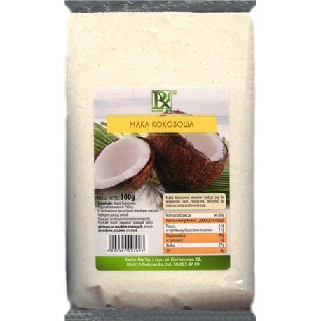 Mąka kokosowa 300g Radix-Bis-167